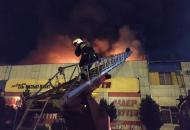 Полтава, пожар