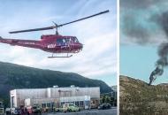 Норвегия, крушение вертолета