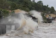 Филиппины, шторм