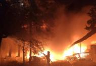 На Луганщине в зону пожаровпопал 31 населенный пункт