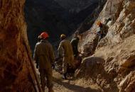 Афганистан, обрушение на руднике