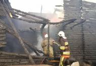 Одесская, пожар