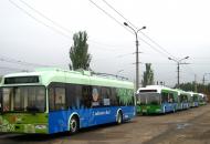 В Северодонецке остановились троллейбусы