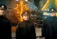 Полицияпоздравила украинцев с рождественскими и новогодними праздниками