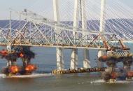 Нью-Йорк, взрыв, мост