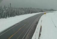 Канада, снегопад