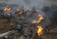 Под Северодонецком вспыхнул новый пожар