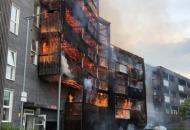 Лондон, пожар
