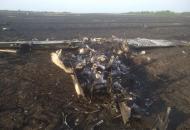 Харьковская, крушение самолета