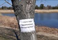 Северодонецк, озеро, рыбалка, запрет