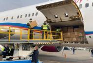 В Украину прибыл второй самолет из Китая, доставивший спецсредства защиты от коронавируса