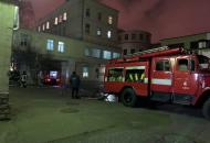 В центре Киевагорела больница