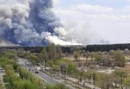 Северодонецк, лесные пожары