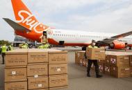 В Украину прибыл самолет из Китая с медицинским грузом