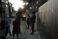 Крым, взрыв, пожар