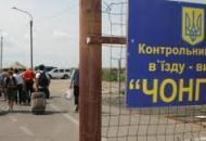 Крым, админграница