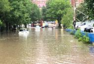 Владивосток, ливень
