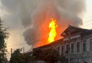 В Харькове пожар в жиломдоме унес жизни двух людей