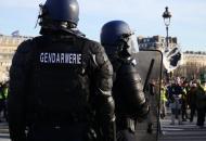 Франция, Париж, акции протеста