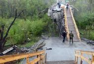 Станица Луганская, мост