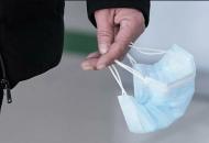 В Украине будут наказыватьза неправильное ношение масок
