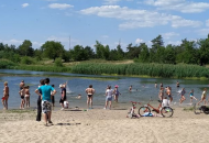 Северодонецк, парк, озеро
