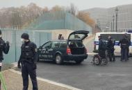 В Берлине автомобиль протаранила ограждение резиденции канцлера Германии