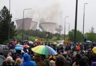 кадры взрыва на ТЭС