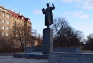 Памятник Ивану Коневу, установленный в Праге