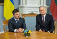 В Украину с официальным визитом прибыл президент Литвы