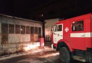 Спасателицелую ночьтушили пожарна Змиевской ТЭС