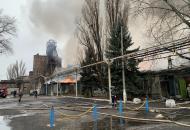Донецкая, пожар