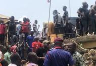 Нигерия, обрушение школы