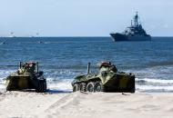 Калининград, военные учения