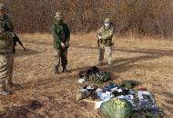 На Луганщине задержан россиянин, который бежал через границу, чтобы попросить убежище в Украине