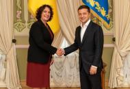 посол Британии в Украине Мелинда Симмонс