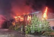ВСША горел сталелитейный завод Коломойского