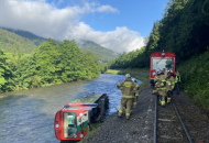 Австрия, крушение поезда