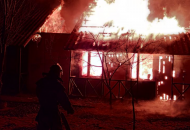 неизвестные подожгли базу отдыха вЗатоке