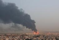 В Тегеране горит один из крупнейших НПЗ страны