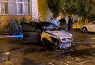 Во Львове сожгли автомобиль детектива НАБУ