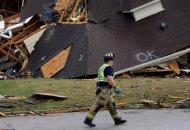 Жертвами разрушительных торнадо в СШАстали по меньшей мере 5 человек
