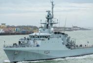 Британский патрульный корабль Trent вошел в Черное море