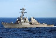 Ракетный эсминец USS Ross