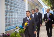 Зеленский почтил память павших заУкраину