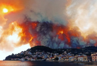 В Греции из-за аномальной жары бушуют пожары