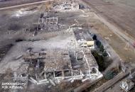 Взрывы военных складов на Луганщине