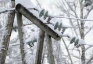 В Украине из-за непогоды обесточены 86 населенных пунктов в шести областях