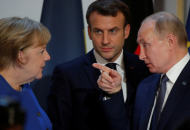Меркель, Макрон, Путин / Иллюстративное фото. Открытый источник