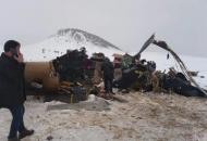 В Турции разбился военный вертолет